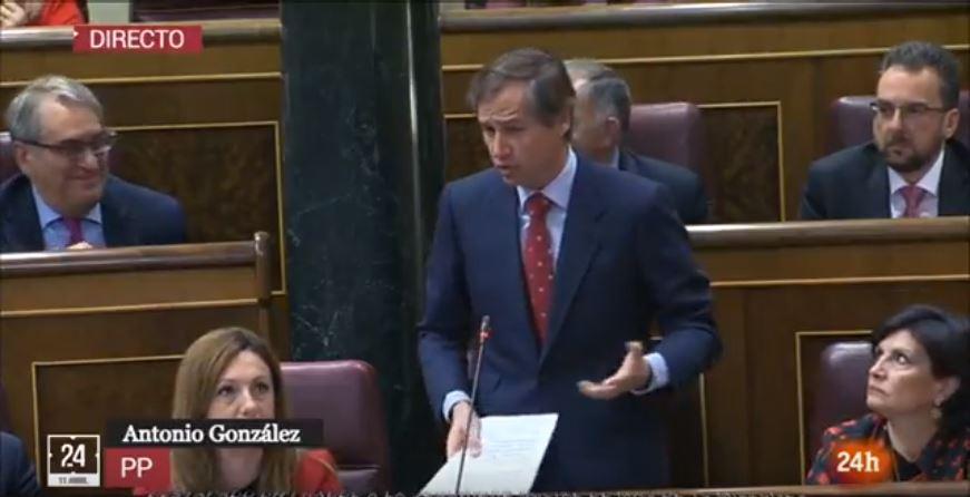Antonio González Terol ocupará la secretaría de Política Local en el PP nacional