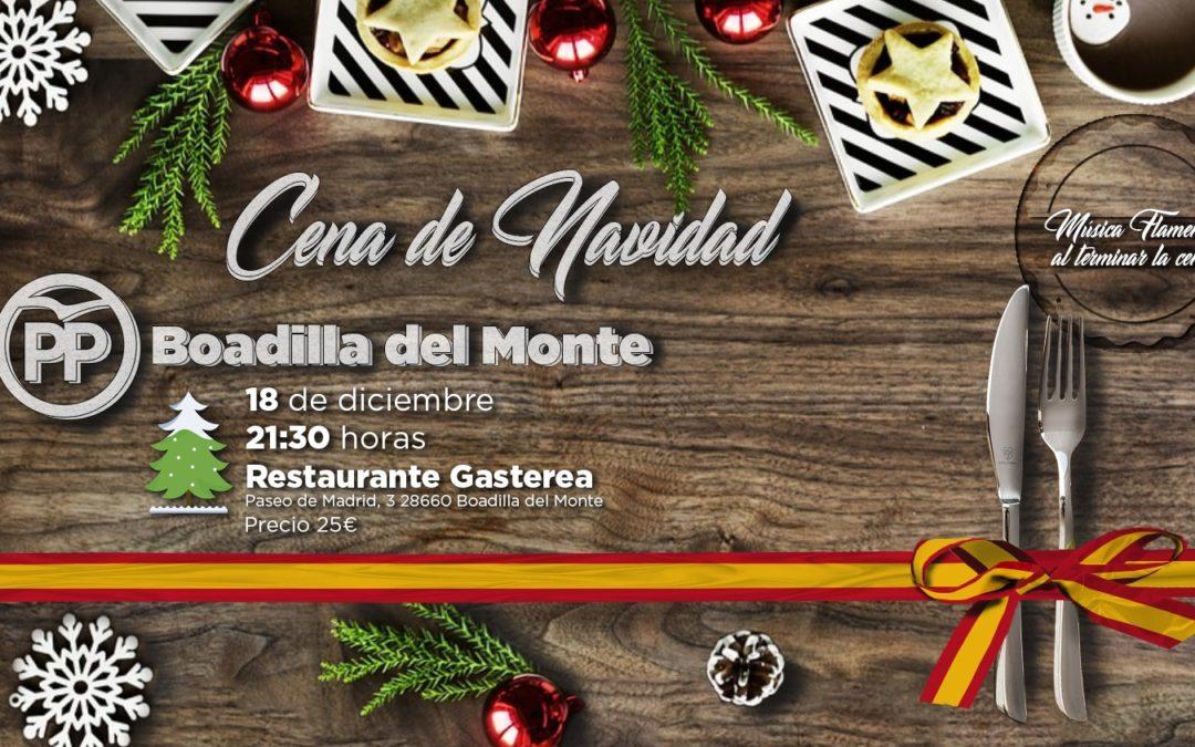 Cena de Navidad del  Partido Popular de Boadilla del Monte