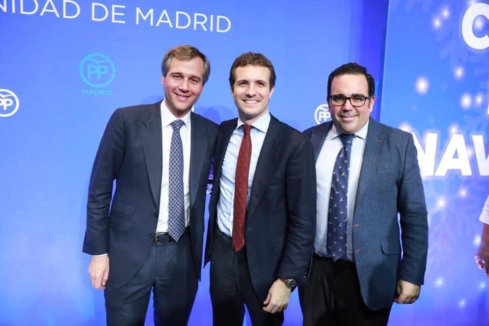 El Comité Electoral del PP de Boadilla designa a Javier Ubeda candidato a alcalde a propuesta de Terol