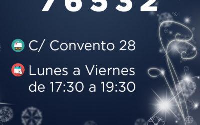 El PP de Boadilla juega al 76.532 en la lotería de Navidad