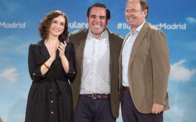 Javier Úbeda, designado oficialmente candidato a la Alcaldía de Boadilla en un acto multitudinario