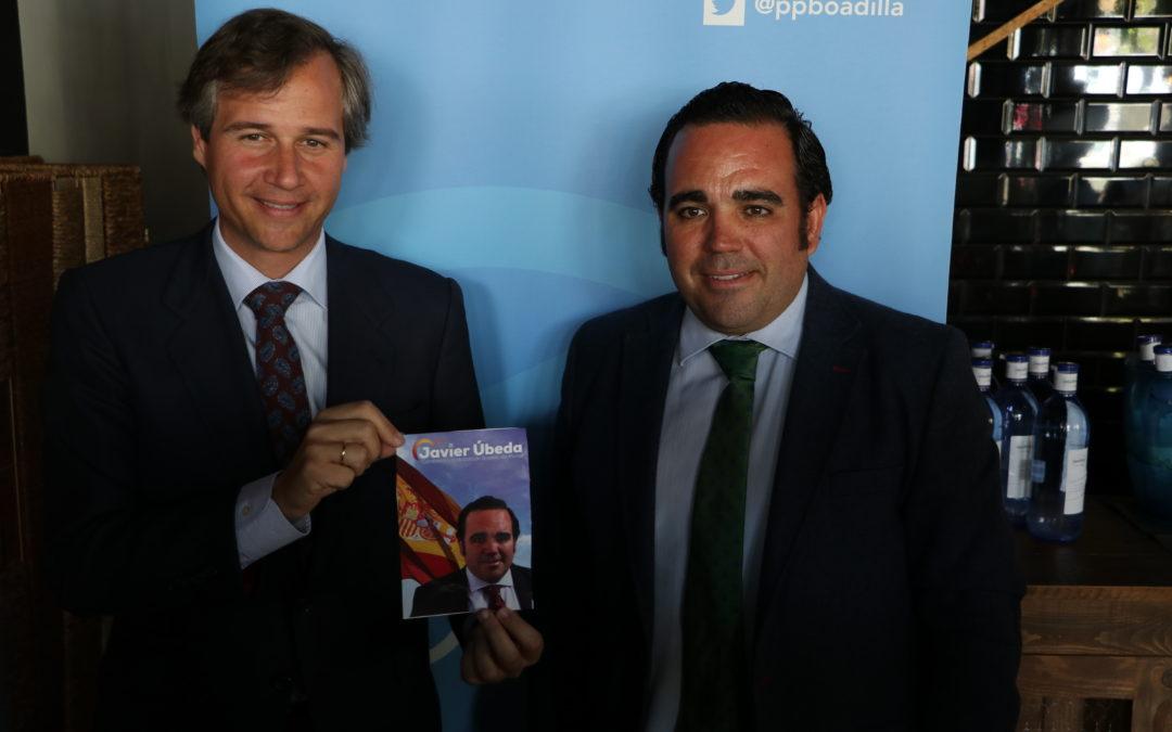 """Javier Úbeda: """"Somos los que mejor conocemos Boadilla y los que mejor podemos seguir mejorando esta gran ciudad"""""""