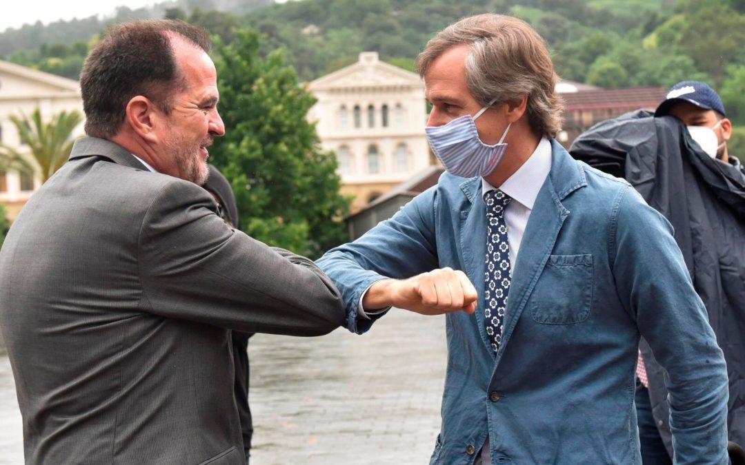 Casi 50 afiliados del PP de Boadilla participarán este fin de semana en la campaña electoral en el País Vasco