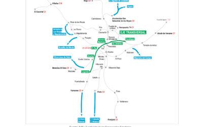 Terol y Ayuso solicitan a Fomento la creación de un tercer carril en la M50 y la llegada del Cercanías a Boadilla