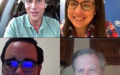 Ana Vázquez mantiene un encuentro digital con simpatizantes y afiliados del PP de Boadilla
