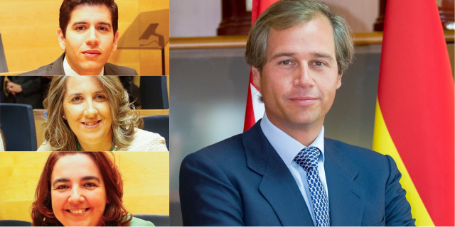Terol y tres concejales de su Equipo de Gobierno, en la lista al Congreso por Madrid  del Partido Popular